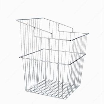 Tilt-out Laundry Basket Chrome