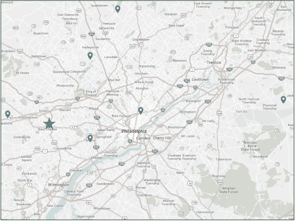 map of diplomat closet location