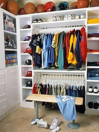 teen closet