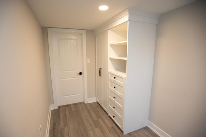closet in hallway