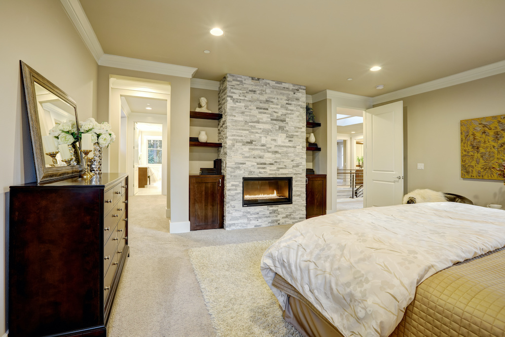 Beautiful and Elegant Storage Solutions for the Master Bed and Bath
