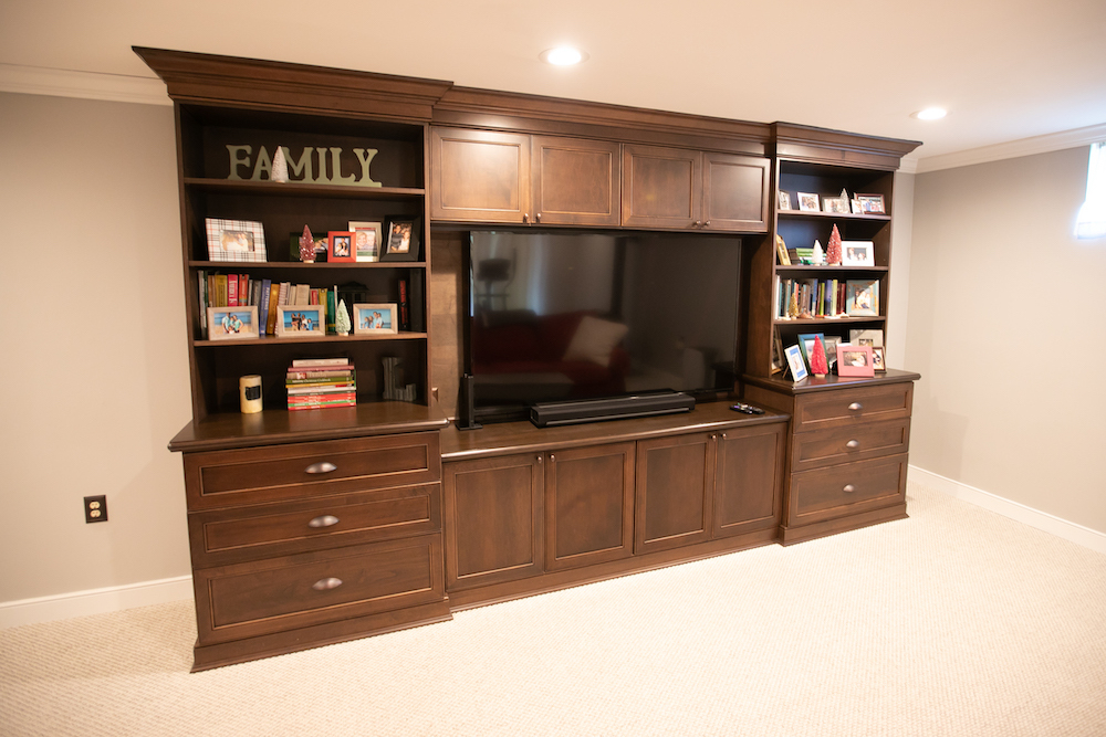 Maximize Your Space for 2021 with Basement Built-Ins