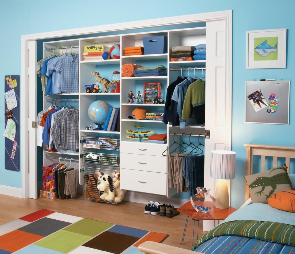 all-height-adjustable closet
