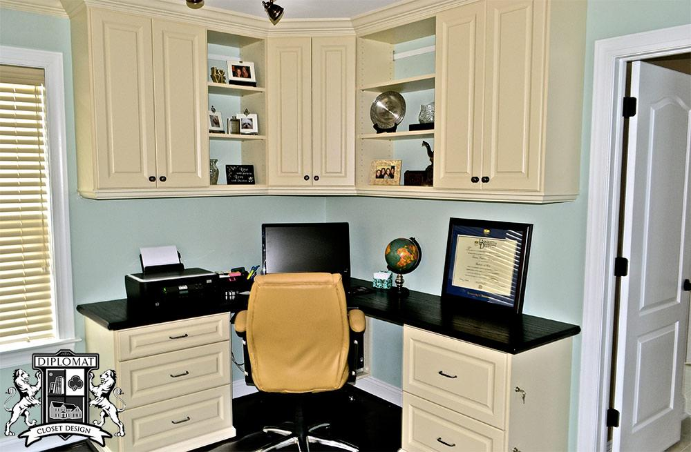 Home Office Closet Systems | Diplomat Closet Design