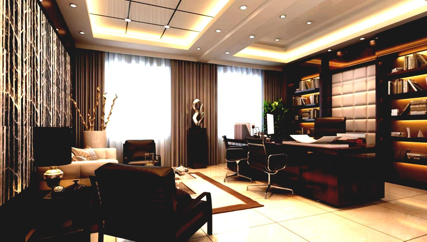 Home office must haves diplomat closet design for Best executive office design