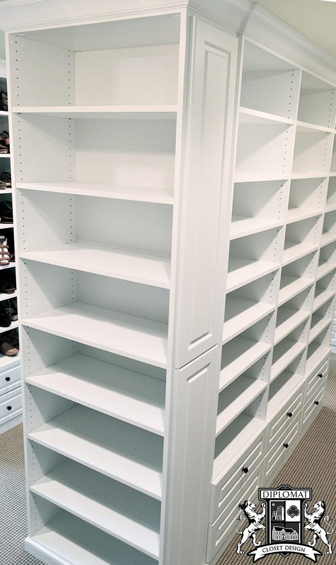 walk in closets, custom closets, master bedroom closet, closet design, closet systems, home office, pantry, laundry storage, garage storage systems, mudroom storage, west chester, gladwyne, devon, chadds ford, downingtown, newtown square, chester springs